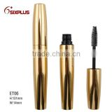Gold apperance high quality container mascara