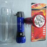 I'm very interested in the message 'Sell the hottest plastic led torch flashlight' on the China Supplier