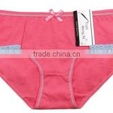 We Have Stocks For Mix Colors Ladies/Women Cotton Bow+Lace Underwear Panties Briefs 1800pcs/Lot
