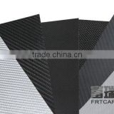 100% Real Carbon Fiber Sheet Veneer Glossy or matte 3k Twill Weave 3m Tape 400X500X 0.3mm