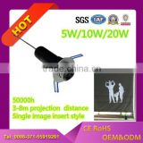 LEDY floor projector embedded 5w short ditanc led logo advertising floor projector