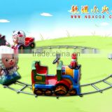 QHRT-07 Qingheng hot sale sheep character metal toy train set