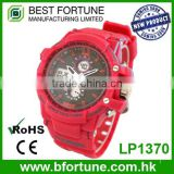 LP1370 Wholesale 3 atm water resistant dual movement children wrist watch
