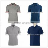 100 polyester OEM sublimation blank polo shirt , custom short sleeve fashion polo shirt design