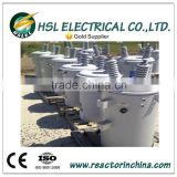 30kva single phase oil immersed pole mounted step down transformer 10kV to 480V