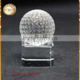Alibaba china Best-Selling design crystal golf ball gift items