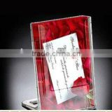 Wholesale Desktop Vertical Acrylic/Plastic/PMMA Postcard Collection Container Holder