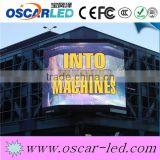 High Waterproof led outdoor advertising board hot sale commercial scrolling advertising led display p16 full color led display