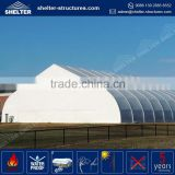 2016 new maximum wind loading 100km/h(0.5kn/sqm) 40 meter aluminium tent aircraft hangar marquee tent