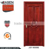 china classic design 4 panels exterior wood paneling door for 6 inch wall wood door for sale