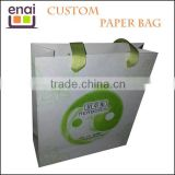 Hot sale customizing printing handmade wax paper bag wholesale