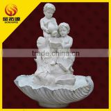 natural stone angel water fountain