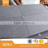 natural chiseled grey basalt paver