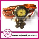 SWH 0621-4 China wholesale fashion vintage genuine butterfly charm trendy kids watches 2014