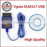 Factory price!!Professional auto car diagnostic tool vgate ELM327 USB Interface mini v1.5 Vgate Scan ELM 327 USB hot sales
