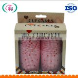machine-processed high temperature resistant cups for baking cakes / mechanism cupcake paper cups