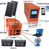 Full power solar panel /inverter/battery/controller complete off-grid 5kw home solar system                                                                         Quality Choice