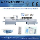 Customized Automatic Vacuum Thermoforming Packaging Machine for Medical Dressing Products