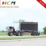 p10mm Outdoor Mobile LED TV Display Advertising Vehicle, Large LED Display Billboard Screen