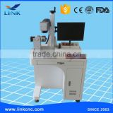 2016 Jinan professional 30W fiber laser marking machine for metal of excellent quality for 0.3mm