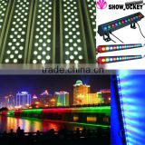 china high quality high power dmx rgb outdoor ip65 led wall washer, led linear light