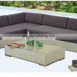 Long-lasting Garden furniture New design rattan Sofa/lounge Colorful wicker outdoor furniture B015