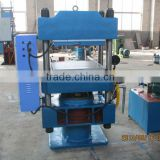 Rubber stopper making machine and rubber plate vulcanizer and silicone products molding machine