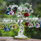 Christmas Day 's Crystal Apple Tree for Home Decoration Crystal gift