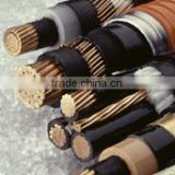 0.6/1kv rated voltage AL/CU conductor multicore core mm PVC insulated PEpower electric cable