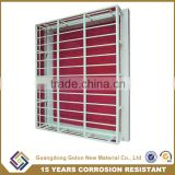 Modern new house window grill design, safety window grill design,wrought iron window grill design