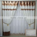 2014 china wholesale ready made curtain,curtain rod glass ball finial