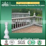 Fiberglass Cement Water Proof Outside Decor Concrete Pillars Column Balusters