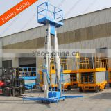 Hydraulic light weight lift table/telescopic cylinder hydraulic lift