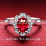 china jewellry wholesale red gemstone engagement bands or rings big finger rings