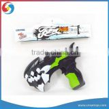 DD0601514 Dinosaur Sound Gun Light And Sound Electric Black Paint Gun