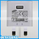 Original 3 pin UK plug mobile wall travel charger For samsung galaxy note 2 s4 EP-TA12UWE