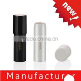 Newest plastic round black cosmetic concealer stick / tube / container / packaging / pen / case