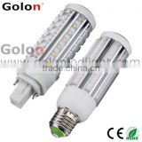 g24 led pl light 360 degree g24d-3 g24q-3 g23 g24d-2 g24q-1 led pl light 11w 7w 5w plc 4 pin led g24 lamp