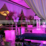 Friendly environment RP pipe and drape for banquet hall decoration