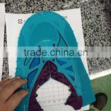Seamless shoes upper film with high frequency machine and RF machine from Dongguan Xionglin