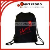 Custom Printing Drawstring Backpack 210D Drawstring Bag                                                                         Quality Choice