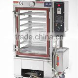 Quickly Commercial Steamed Bun/ Cake Machine Stainless Steel Industrial Glass Gas Food Steamer