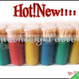 Hotsales Disposable Bamboo Bottle Toothpick,bamboo toothpick