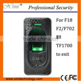 Good Quality FR1200 access control fingerprint reader connect with F18,F8,F2, inbio series waterproof reader wiegand reader