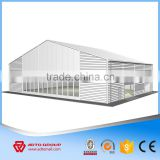 Gable Frame Prefabricated Warehouse Prefab Steel Warehouse framework construction detailing design manufacturer