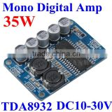 Mono Digital Audio Power Amplifier Circuit pcb Board DC24V 2A TDA8932 35W sound standard assembled