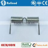 304 Stainless Steel Material Double Torsion Spring for sale