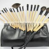 18 PCS Makeup Blush Brushes Eyeshadow Powder Cosmetic Tool Case Bags Kit Set