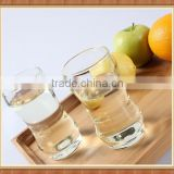 Top quality with cheap price hand blown beautiful bamboo shape glass jar set 200ml customer design glass cup