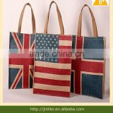 UK National Flag printing jute storage bag